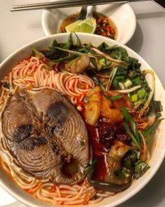 Bún cá ngừ – Hương vị xứ Huế