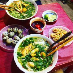 Bánh canh cá lóc – Món ăn quen thuộc của người dân xứ Huế