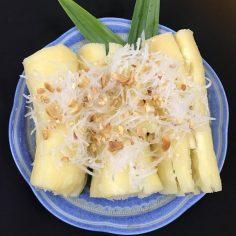 Sắn hấp dừa – Món ăn dân dã xứ Huế