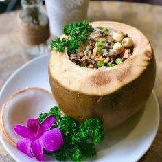 Cơm trái dừa – món ăn CUNG ĐÌNH Huế
