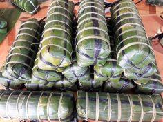 Bánh tét làng Chuồn Huế
